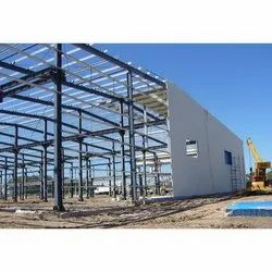 Color Coated Hot Rolled Pre Engineered Building Structure