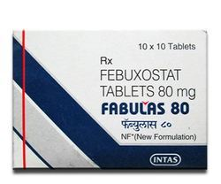 Fabulas (Febuxostat 80mg) Tablet