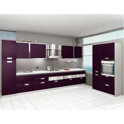 Pvc Finished Kitchen Cabinets Rs 800 Square Feet Simco Industries Id 18933672697