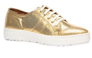 North Star Golden Casual Shoes For