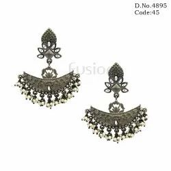 Indo Western Light Weight Victorian Earrings