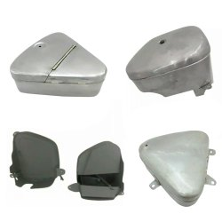 Triumph Motorcycle Tool Box Assembly British Bike Replacement Spare Parts
