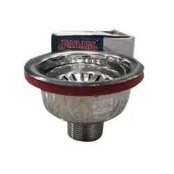 Padam Steel Sink Coupling, Size: 4 Inch