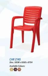 With Hand Rest (Arms) CHR 2145 Nilkamal Plastic Chairs, Size: 585 W X 656 D X 875 H mm