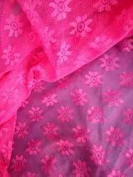Zinnia Flower Nylon Fabric