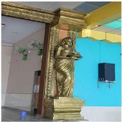 Women Golden Statue
