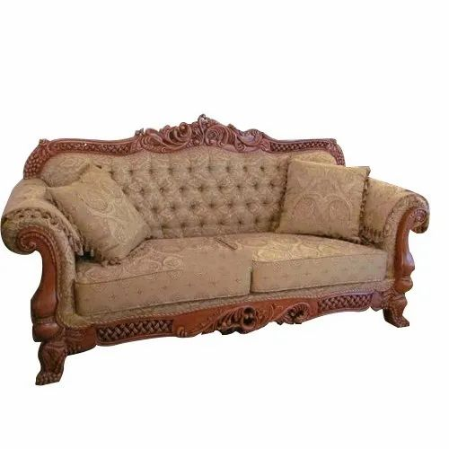 2 Seater Designer Antique Sofa At Rs