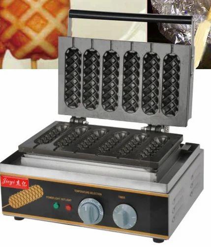 Stick Waffle Machine 6 Stick Waffle At Rs 12000 Ex Factory Waffle