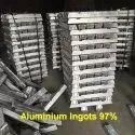 Aluminium Ingots Pure 97%