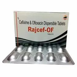 Cefixime And Ofloxacin Dispersible Tablets