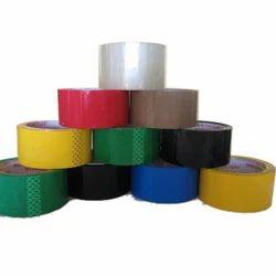 Multicolor BOPP Self Adhesive Tapes, Packaging Type: Carton