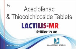 Aceclifenac And Thiocolchicoside Tablets