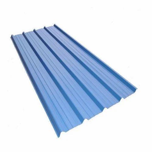 Essar Color Coated Roofing Sheet 0 30 0 80mm Rs 64 Kilogram Om Shri Ganesh Steels Id 15619834133