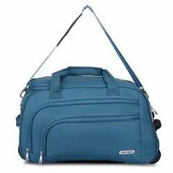Novex Blue Duffle Trolley Bag