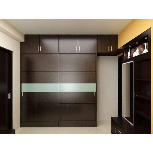 Living Room Cabinet Design In India: Dark Brown PVC Room Cabinet, Rs 700 /square Feet, Dutch