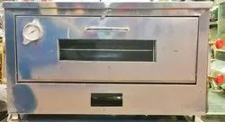 6  Modern Stainless Steel Double Tray Pizza LPG Oven