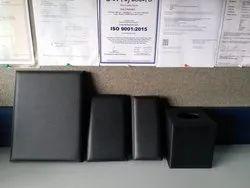 Leather Hotel Menu Folder