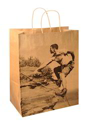 Elegant Printed Paper Bag