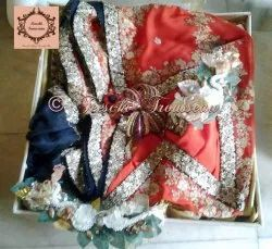 Saree Wedding Trousseau Packing