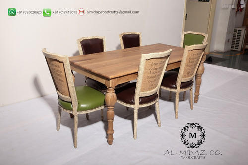 DINING TABLE 6 CHAIRS DT Sixteen. & DINING TABLE 6 CHAIRS DT Sixteen. Dining Table and Chairs Khaana ...