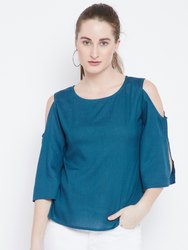 Ladies Shoulder Cut Rayon Top