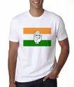 Cotton Congress Election Round Neck T Shirt