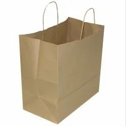 Brown Paper Packing Bag for hotels, For Hotel, Sweet Shops, Capacity: 1kg