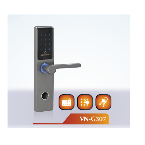 Main Door Lever VN-G307 Digital Lock