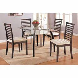 Wooden Dining Table Set In Delhi लकड़ी का डाइनिंग मेज़ का