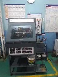 Automatic Chain Cleaning & Lubricating Machine with Bulit-in Parts Washer