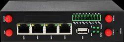 Black 4G Industrial Gateway Router, IR-1400-4G-D-IGR