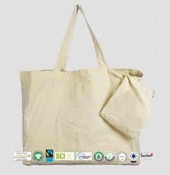 Natural Recycle Organic Cotton Dyed Bag