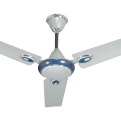 Crown Silver Blue Ceiling Fan
