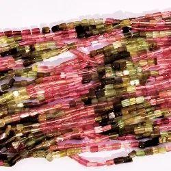 Bricks Tourmaline Gemstone Beads