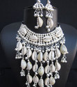 Cowrie Shell Jewelry Long Weddings Necklace