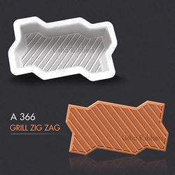 A 366 Grill Zigzag Mould