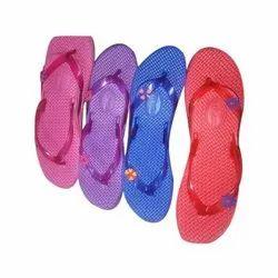 Daily wear Ladies Printed EVA Slipper, Size: 5-8