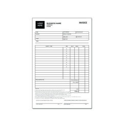 Carbonless Invoice Printing Service
