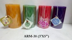 Arome Pillar Candle