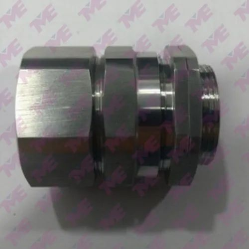 SS Double Compressor Cable Gland