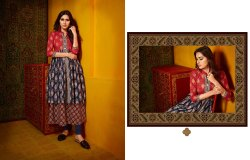 Rajdhani-Kajree New Present Cotton Printed Anarkali Long Kurtis