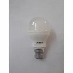 Adhirav 5 W 5 Watt LED Bulb, Color Temperature: 2700k
