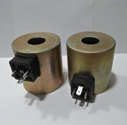Round Fabricated Solenoid Coil
