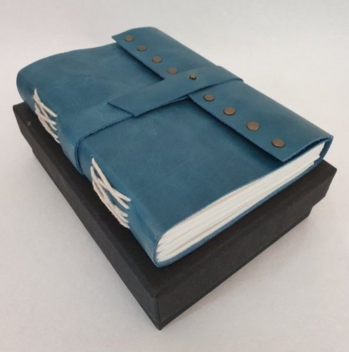 BELT CLOSURE HANDMADE LEATHER JOURNAL