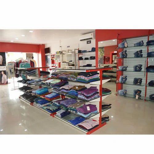 Garment Display Rack Showroom Garment Display Rack Manufacturer From Mumbai