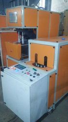 4 Cavity Semi Auto PET Bottle Blowing Machine