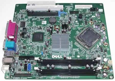 Dell Optiplex 760 Desktop Motherboard Part No  0M859N, SFF   ID