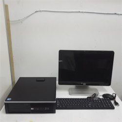 Hp Refurbished Desktop Complete Set Core 2 Duo With Warranty Cod Available