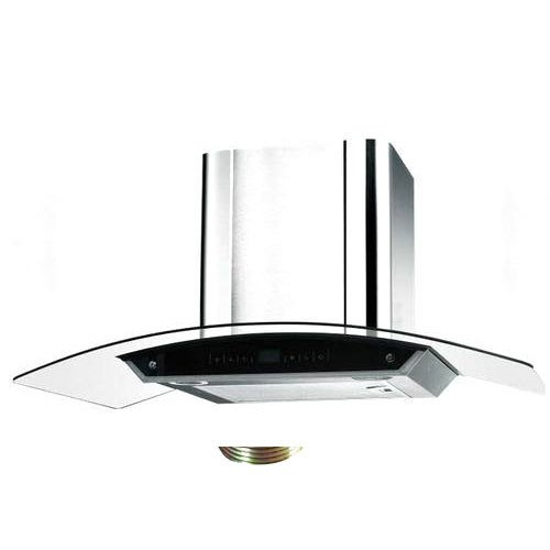 Stainless Steel Domestic Kitchen Chimney