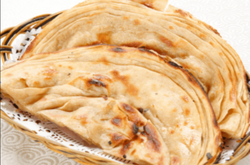 Lachha Paratha With Butter